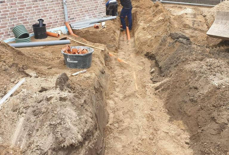 Kanalbauarbeiten | Spickenagel